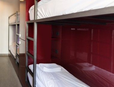 bunk hostel room