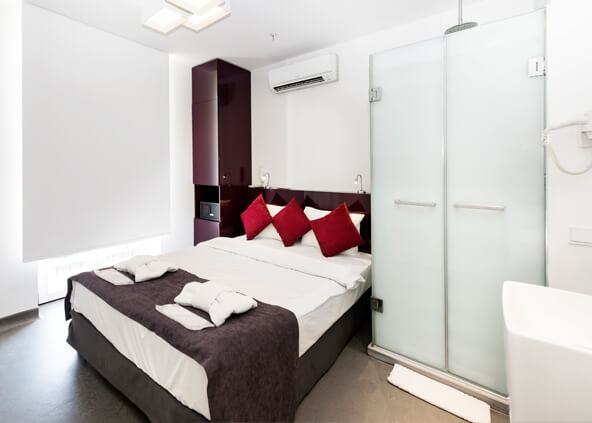Bunk Hostel Rooms